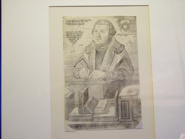 Luther lithograph